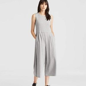 Eileen Fisher Med Organic Cotton Jumpsuit Moon